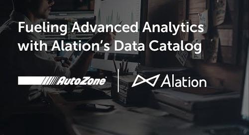 AutoZone Fuels Advanced Analytics with Alation's Data Catalog