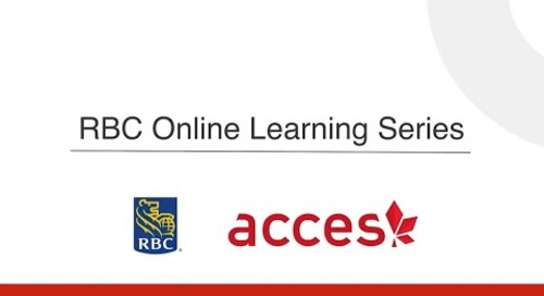 RBC Online Learning Series  - Why is networking important