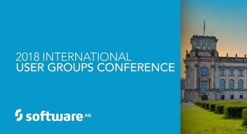 Impressions from our 2018 International User Groups Conference