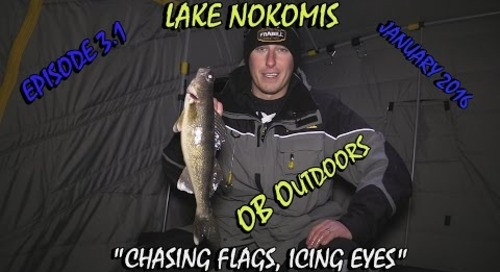 """Lake Nokomis Ice Fishing - Episode 3.1: """"In Pursuit of Ice"""""""
