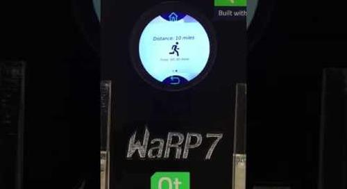 Qt Lite NXP WaRP7 at QtWS16