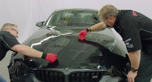 How to wrap a hood - 3M™ Wrap Film Series 2080