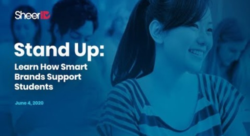 Stand Up: Learn How Smart Brands Support Students