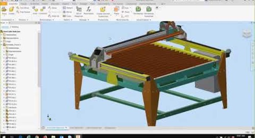 Getting Started with Autodesk Inventor Nesting