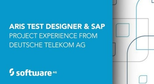 ARIS Test Designer and SAP