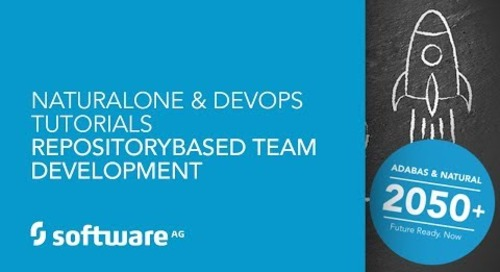 NaturalONE & DevOps Tutorials -Repository-based Team Development