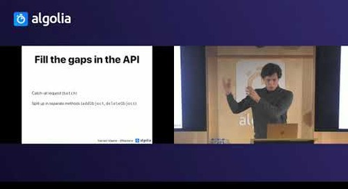 You're probably making an API client - Haroen Viaene, Algolia