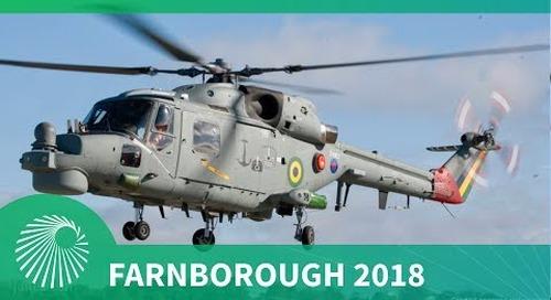 Farnborough 2018: Brazilian Navy Super Lynx Modernisation