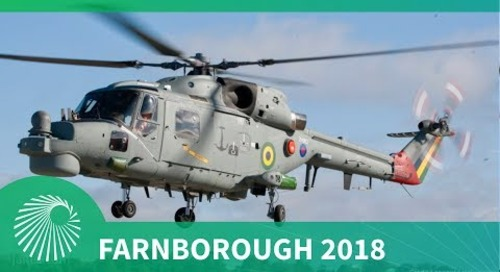 Farnborough 2018: Brazilian Navy Super Lynx Modernisation