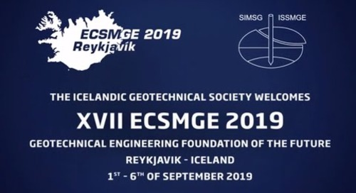 ECSMGE 2019 in Reykjavik, Iceland