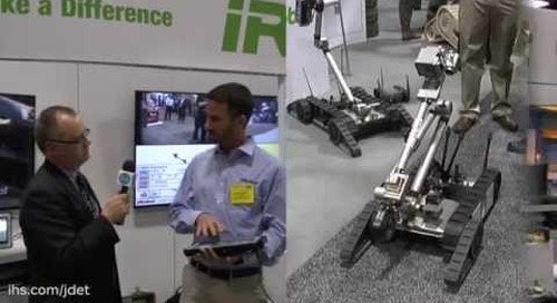 AUSA 2015: iRobot on their new uPoint system