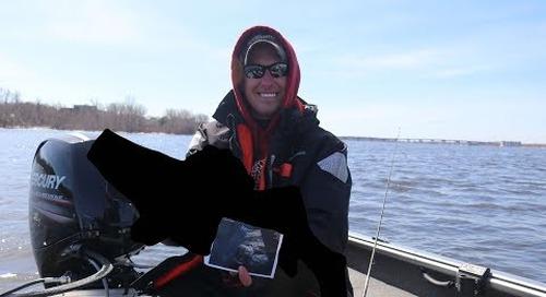 De Pere Wisconsin Walleye Challenge - New PB!