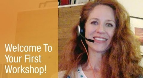 Welcome To Your First Workshop!