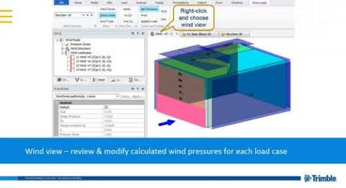 Automating Gravity & Lateral Loading in Tekla Structural Designer