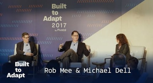 30 Years of Tech Transitions—Rob Mee, Pivotal & Michael Dell, Dell Technologies