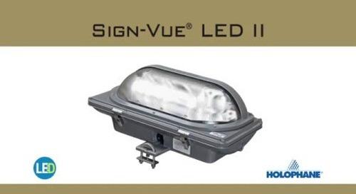 Sign-Vue LED II Luminaire