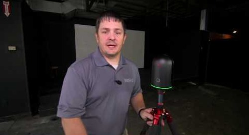 Workflow Demonstration: Leica BLK360 Imaging Laser Scanner