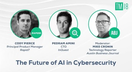 The Future of AI in Cybersecurity- Time Machine 2018