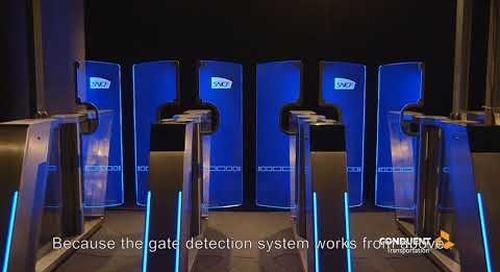 Conduent Transportation 3D Access Control Ticketing Gates