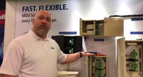 Kevin is talking MDU fiber connectivity at FiberConnect 2018