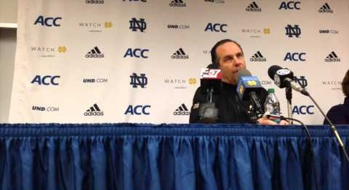 Mike Brey Press Conference (1-23-14)