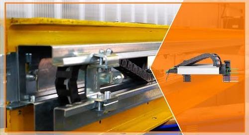 Installation of an igus® guidefast control system on a crane girder