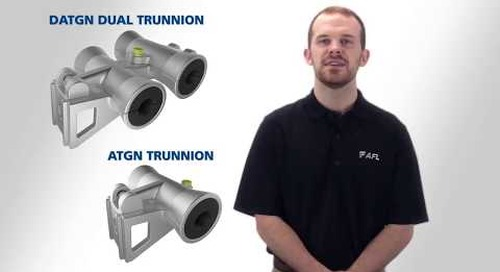 Converting a first and second generation ATGN Trunnion to a Dual Trunnion tangent support