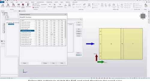 Tekla Structural Designer 2020 - Using the Combinations Generator