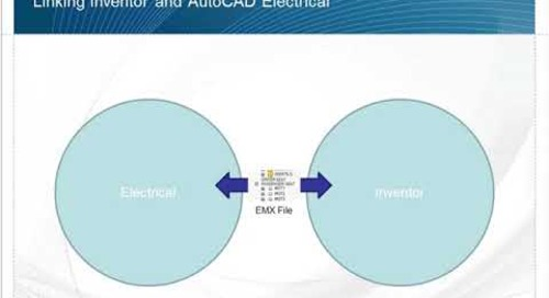 Interaction between Inventor and AutoCAD Electrical