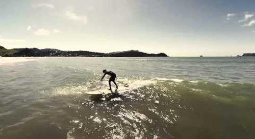 Drone surf FPV