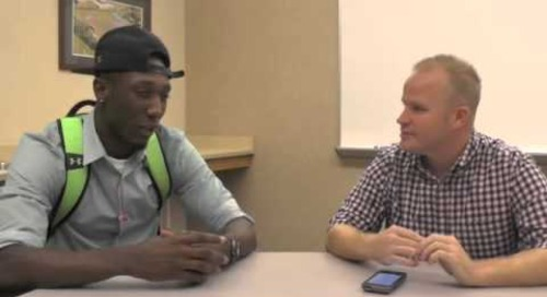 1-on-1 with Notre Dame Commit Josh Adams