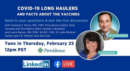 COVID-19 Long Haulers and facts about the vaccines