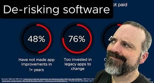 Tanzu Talk: De-risking software
