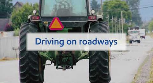 Farm Safety: Rural Road Safety