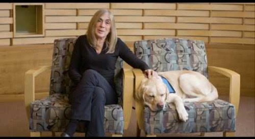 Alaska FinishCancer | Terry and Sawyer: Bringing canine therapy to patients