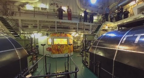 North Pole: Inside the 50 Years of Victory Nuclear Icebreaker (360° VR)