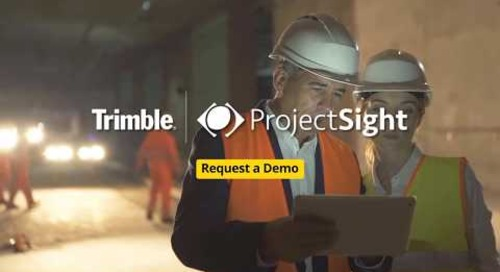 ProjectSight Social Video  VP Construction