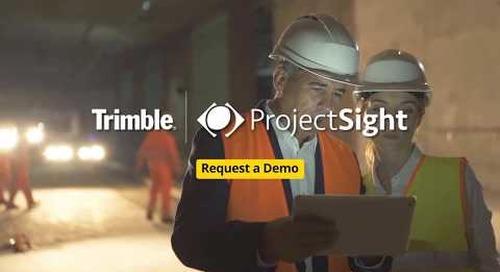 ProjectSight Social Video  VP Construction