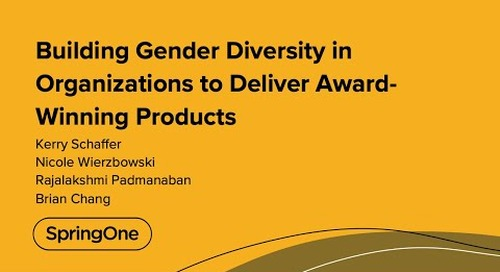 Building Gender Diversity in Organizations to Deliver Award-Winning Products