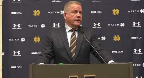 Brian Kelly Navy-Week Press Conference