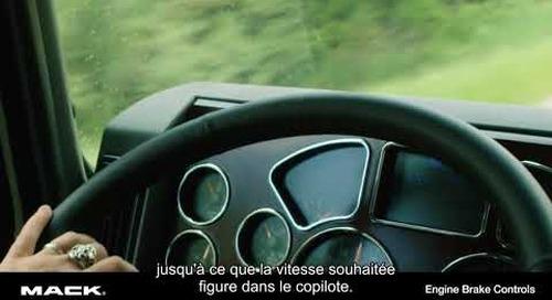 Engine Brake Controls (Legacy) French