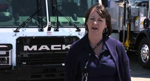 Waste Expo 2015 Mack LR Test Drive - Nicole Thunich, Progressive Waste Solutions
