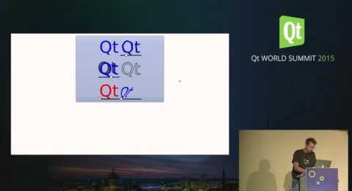QtWS15- Qt for Native Client, Morten Johan Sørvig, The Qt Company
