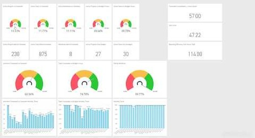 Easy Projects Master Class  Business Intelligence Dashboards