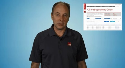 Introduction to the Lenovo Server Operating System Interoperability Guide