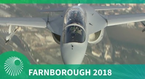 Farnborough 2018: M346 chief test pilot interview