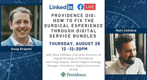 How to fix the surgical experience through digital service bundles