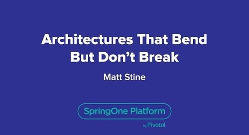 Architectures That Bend But Don't Break