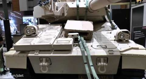AUSA 2015 BAE Systems M8 Expeditionary Light Tank