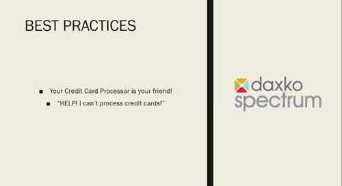 Health Club Credit Card Processing Webcast